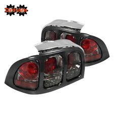 Ford Mustang 94-98 Base GT Convertible EURO Tail Light Smoked Tinted