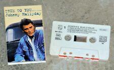 Cassette Audio Johnny Hallyday - True to you - K7 2 titres