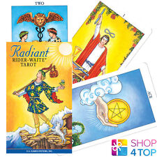 RADIANT RAIDER-WAITE TAROT DECK CARDS ORACLE ESOTERIC TELLING YELLOW NEW