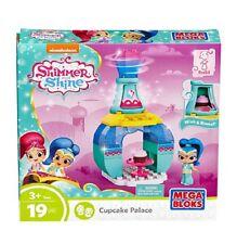 Shimmer and Shine Cupcake Palace Genie Palace Bottle Sweet Treats Building Set