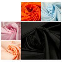 100% Acetate Lining Quality Fabric Dress Material Plain Upholstery Fashion Craft