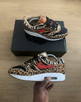Air Max 1 Atmos Animal Pack 2.0 (2018 All Black Box) UK 7.5