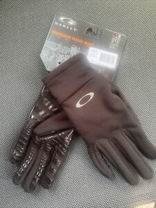 Oakley Midnight Fleece Gloves M/L Schwarz Handschuhe Neu / OVP