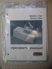 Vintage Original Never Used Woods Model T480 Rotary Tiller Sealed Manual