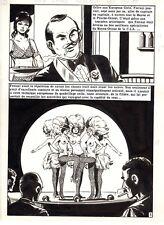 FACE  D'ANGE (VICENTE FARRES) REVEILLE LES MORTS PLANCHE ORIGINALE PAGE 5 PIN-UP