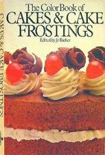 The Color Book of Cakes & Cake Frostings By JO BARKER