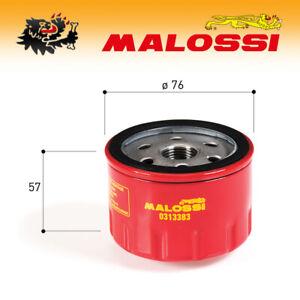 0313383 [Malossi] Filtro de Aceite Red Chilli Oil - Malaguti Spidermax Gt 500