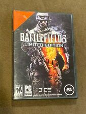 Battlefield 3 Limited Edition PC DVD Rom Video Game Rated M
