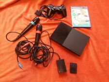SONY PLAYSTATION 2 PS2 + SINGSTAR POP HITS + MIKROFONE SPIELEKONSOLE BUNDLE