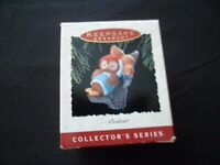 Hallmark Owliver Holiday Christmas Keepsake Ornament 1993 ~Free Gift