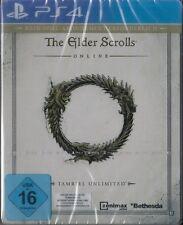 The Elder Scrolls Online: Tamriel Unlimited PS4 Entdecker Paket STEELBOOK & NEU