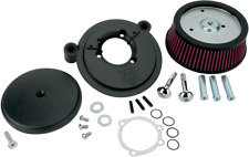 Arlen Ness Black Big Sucker Stage 1 Air Cleaner Kit 99-17 Harley FXD FLHT FLSTF