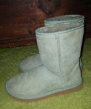 Ugg Australia Women's Classic Short Boot 5825 green aqua Sizes W7