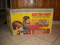 Vintage Marx Electro-Shot Shooting Gallery With Original Box Working