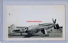 1946 NAA P-51D MUSTANG EARL ORTMAN THOMPSON RACE ORIGINAL PHOTO WWII RARE