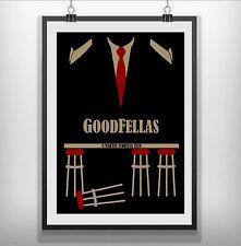 goodfellas Minimalist Minimal Film Movie Poster Print