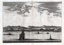 Algiers arzylla vue cuivre clés pour 1730-original!