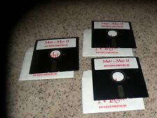 """Might and Magic II for Apple II 128K on 5.25"""" disks"""