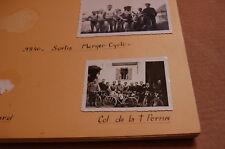 Antica Foto montagne , bicicletta , comunione ,1934 à 40 - 67 photos