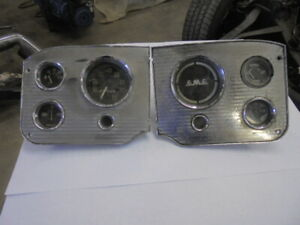 1955 1956 57 58 59 GMC Truck Dash Instrument Cluster Guage Speedometer Assembly