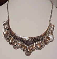 JESSICA SIMPSON COIN BIB NECKLACE NWT