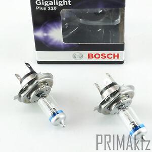 2x BOSCH 1 987 301 106 Lampadina H4 12V 60/55W Gigalight Plus +120% Lampadina