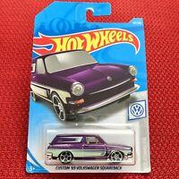 "Hot Wheels Custom '69 Volkswagen SquareBack ""7LUZI"" Mattel Car Brand NEW"