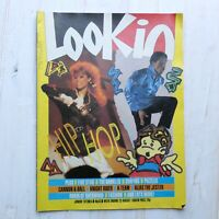 LOOK-IN Magazine 23rd August 1986 No 35 Hip Hop Beastie Boys LL Cool J Bangles