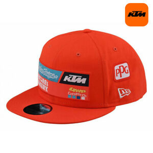 KTM New 2020 Troy LEE Design Team HAT (Orange) Adjustable Hats Snapback Cap