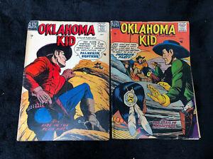 Two 1957 Oklahoma Kid comics western #2 #3