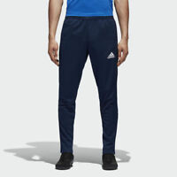 adidas Tiro 17 Mens Football Track Pants - Blue BP9704 $45 RETAIL