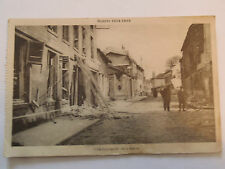 Cpsm Guerre 14-18 City Bombed Marl, Light G