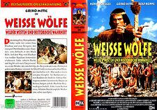 VHS -- Weisse WÖLFE -- (1969) - Gojko Mitic - DEFA