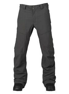 NWT MENS BURTON [AK] 2L SWASH PANT $380 XL Grey bomber snowboard