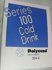 POLYVEND Series 100 Cold Drink mach Service manual with parts breakdown