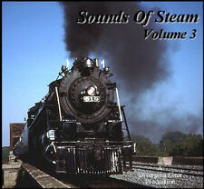 Train Sounds On CD: Sounds Of Steam, Volume 3