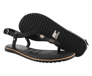 Sorel Ella T-Strap Sandal Womens Shoes