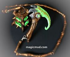 """League of Legends - Thresh - Lantern and Scythe with 4 Foot """"Bone"""" Chain"""