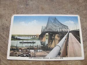 Early  Postcard - New Montreal Bridge, Quebec