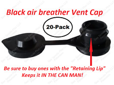 20-Pack GAS CAN VENT CAPS Universal Air Breather Vents Water Blitz Wedco INSTALL