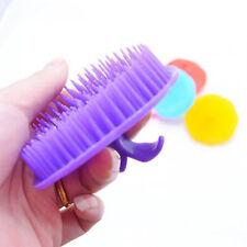 1pc Random Plastic Washing Hair Massage Brush Relaxation Comb Scalp Shower New