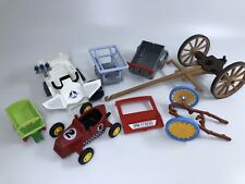 Playmobil Lot Replacement Parts Accessories Wheels Cart Race Car Wagon Space