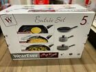 5pcWearEver Other Grip Right Cookware Set