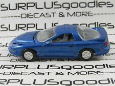Racing Champions 1:60 Scale LOOSE Collectible BLUE 1996 PONTIAC FIREBIRD