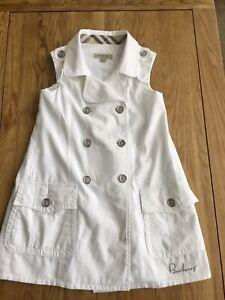 BURBERRY girls Dress Age 5