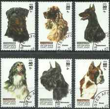 Timbres Chiens Afghanistan 1570/5 o année 2003 lot 2220 - cote : 22,50 €