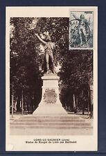 carte  1er jour  Rouget  de l'Isle  39 Lons le Saunier 1936