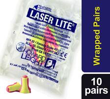 20 x Howard Leight Laser Lite Earplugs Soft Foam Ear Plugs - free UK P&P