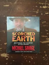 2016 Michael Savage Scorched Earth Audiobook New