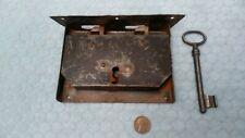 Chest Lock Wrought Iron 1800's Grabber Restored